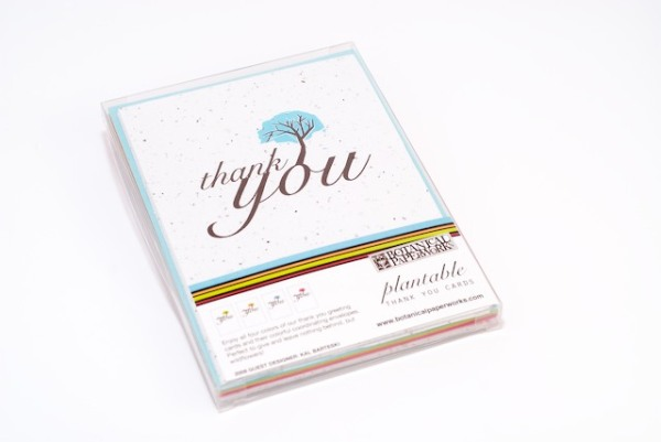 Plantable Thank you card box set